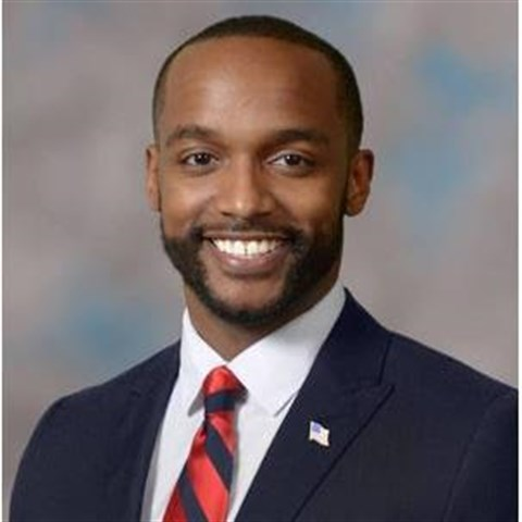 Headshot of Mayor Adrian Perkins of Shreveport, LA.